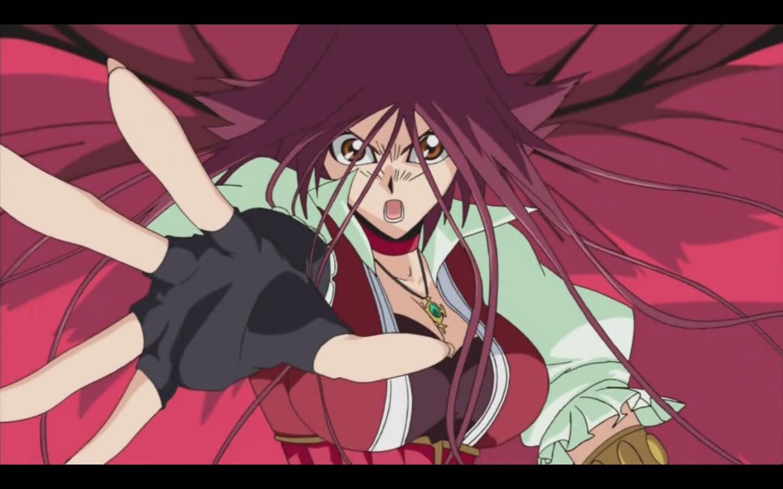 Akiza Black Dragon Rose And Oh Yu Gi
